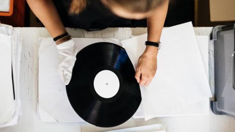 R.A.N.D.-Muzik Schallplatte